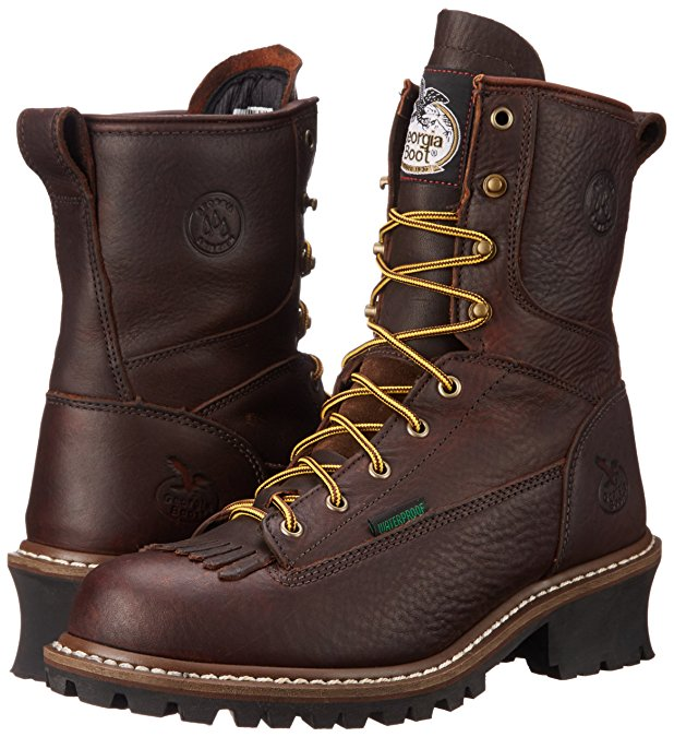 e0d188e3011 Georgia Boot 8-Inch Work Boots Review - Lineman Boots & Tools