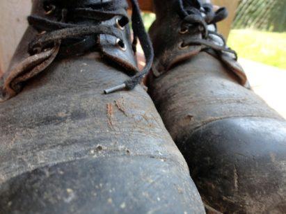 steel toe lineman boots