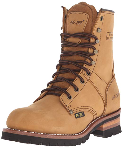 e6aed1badf1 AdTec Men's 9-inch Logger Boot Review - Lineman Boots & Tools