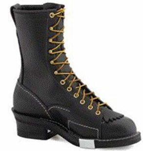 "Wesco Highliner 10"" Lineman Work Boot Black Review"
